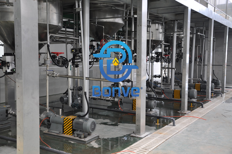 Industrial rotary lobe pumps