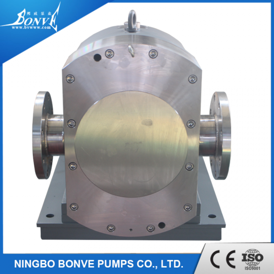 lobe pump for resins