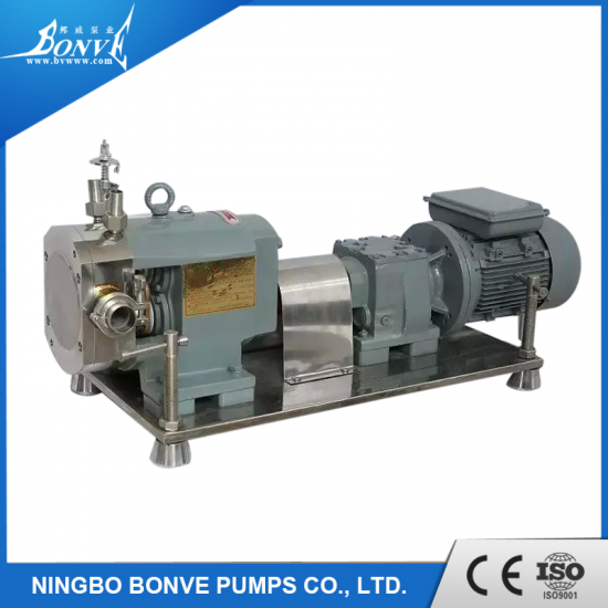 Confectionery transfer pump